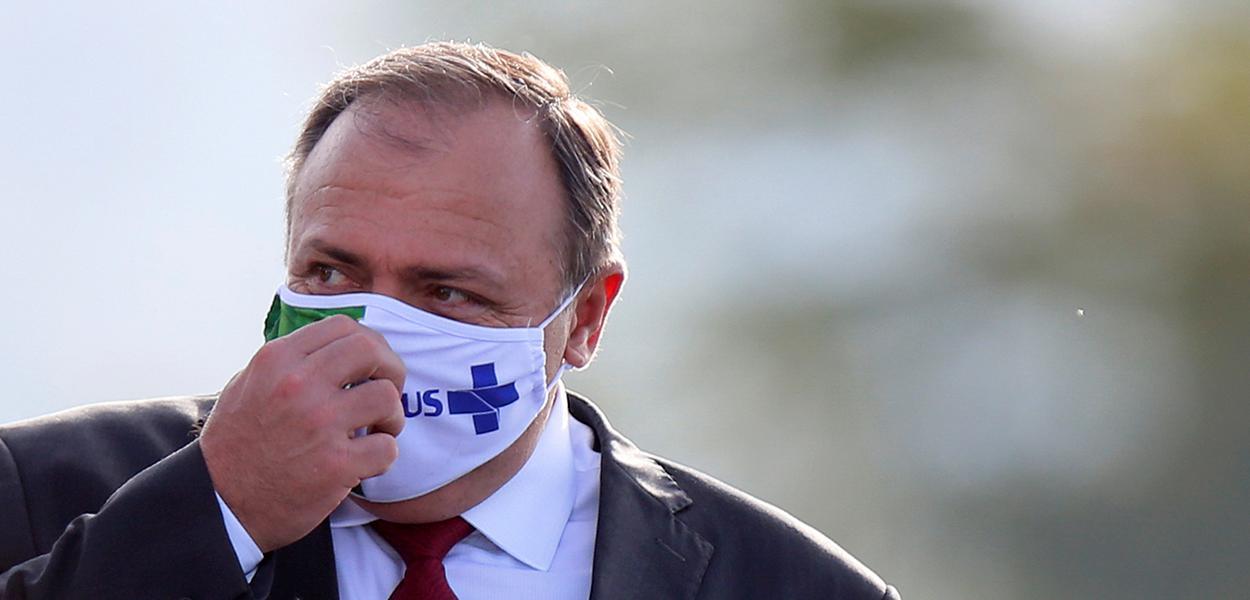 Ministro interino da Saúde, Eduardo Pazuello 09/06/2020