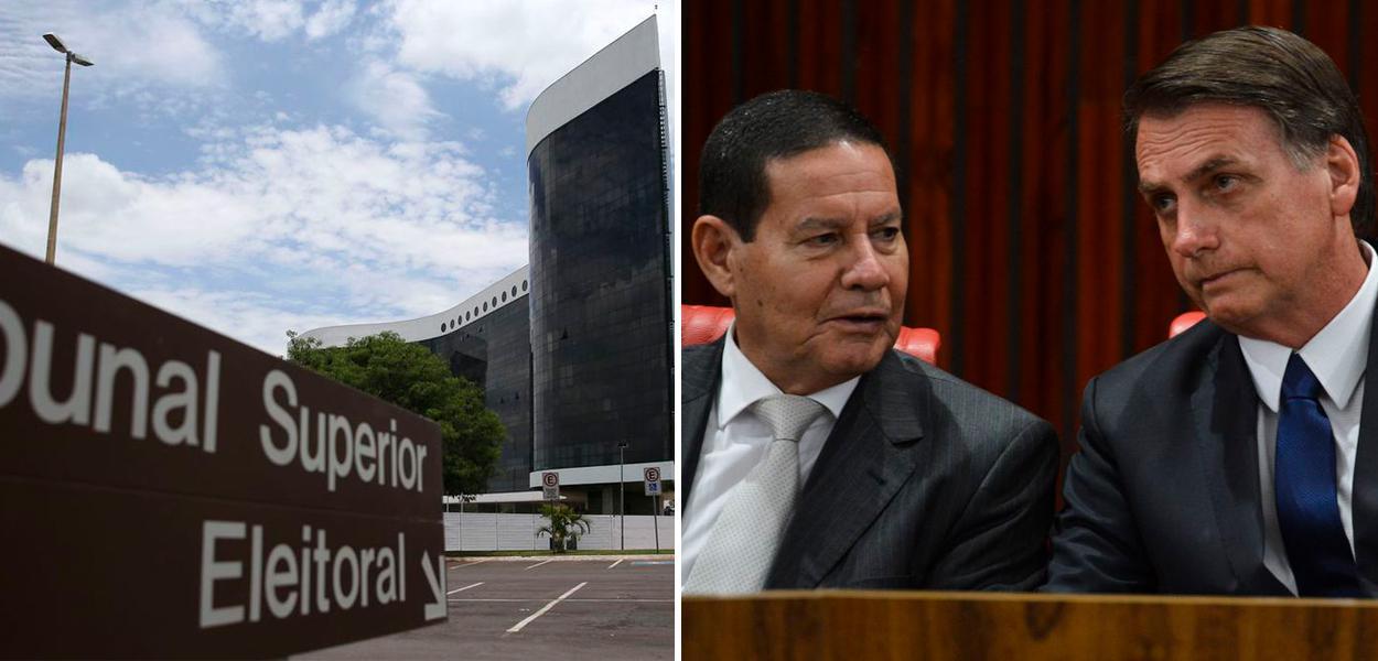 Hamilton Mourão e Jair Bolsonaro