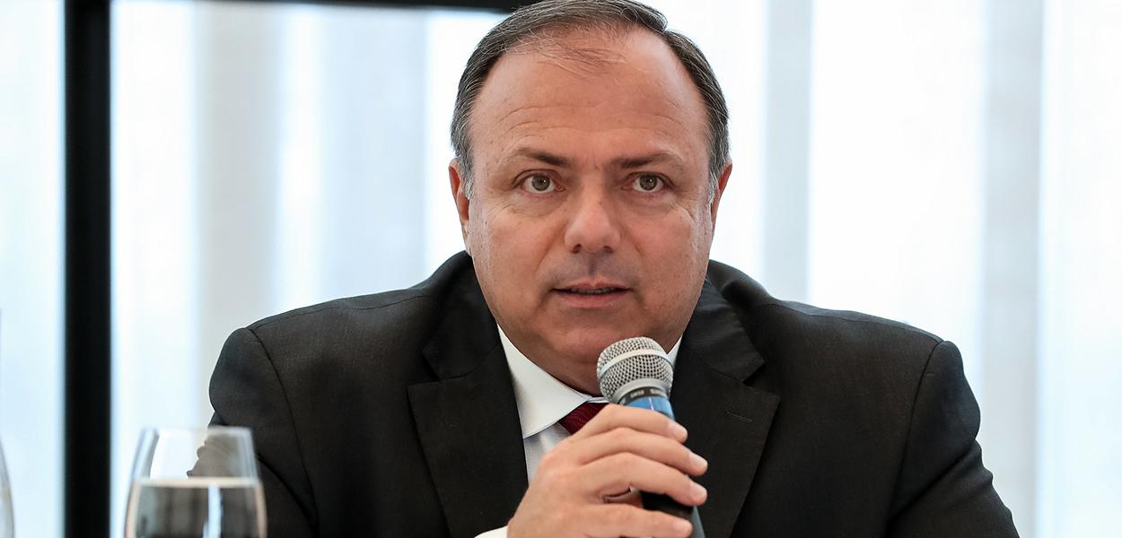 Ministro Interino da Saúde, Eduardo Pazuello.