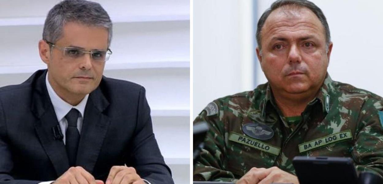Fernando Barros e Silva e General Pazuello