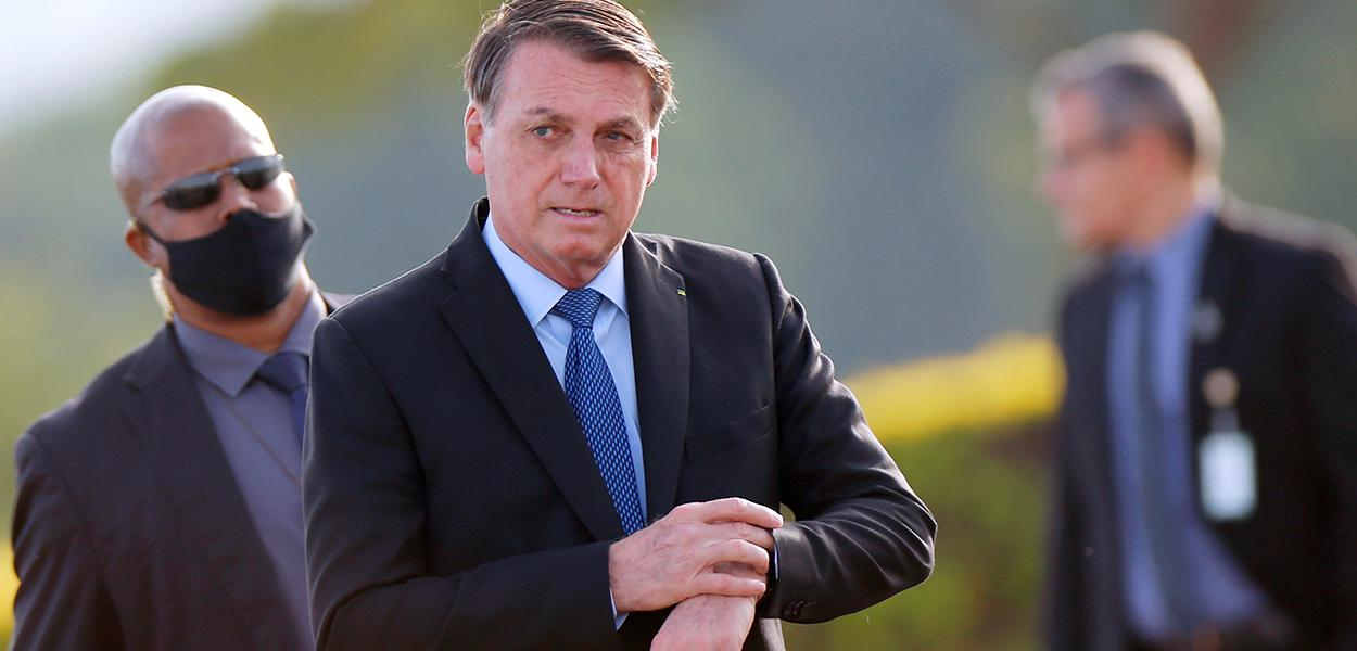 Presidente Jair Bolsonaro em Brasília 09/06/2020
