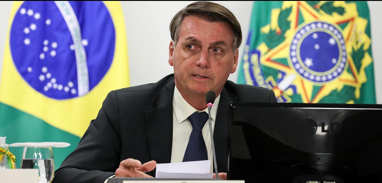 (Brasília - DF, 10/06/2020) Reunião com os Secretários de Segurança Pública Estaduais.