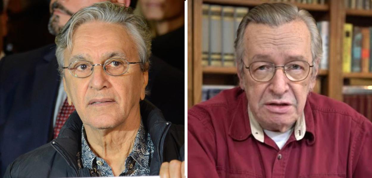 Caetano Veloso e Olavo de Carvalho