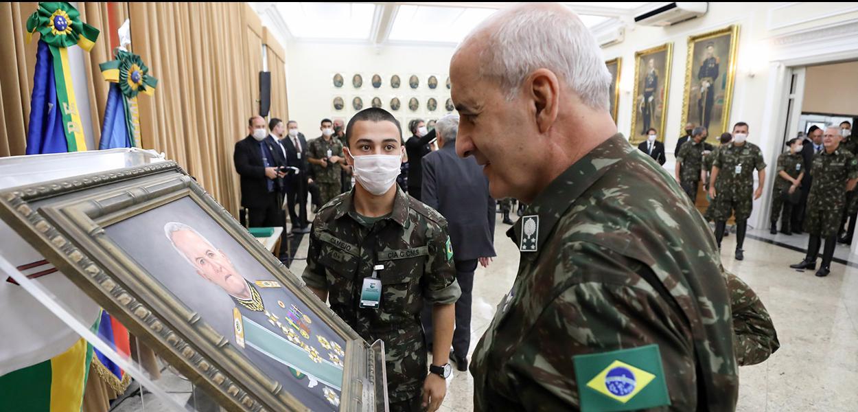 (Porto Alegre - RS, 30/04/2020) Ministro de Estado Chefe da Secretaria de Governo, Luiz Eduardo Ramos durante Solenidade de transmissão do cargo de Comandante Militar do Sul.