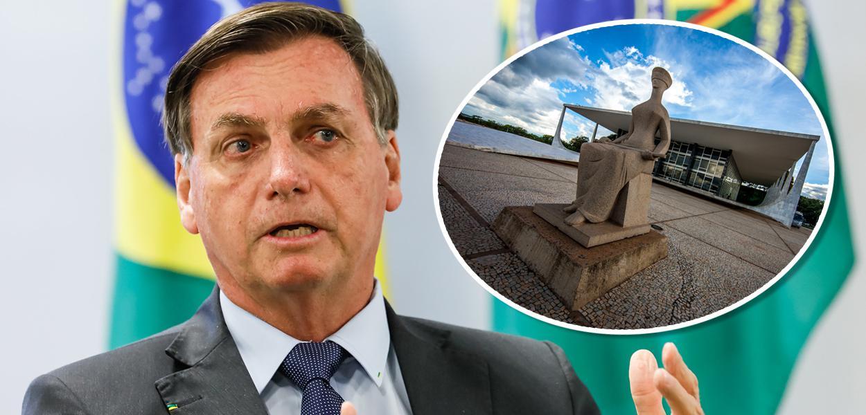 Jair Bolsonaro e STF