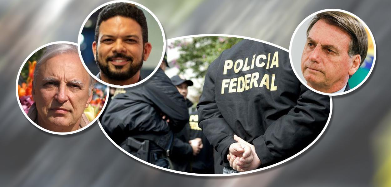 Luís Felipe Belmonte, Sérgio Lima e Jair Bolsonaro