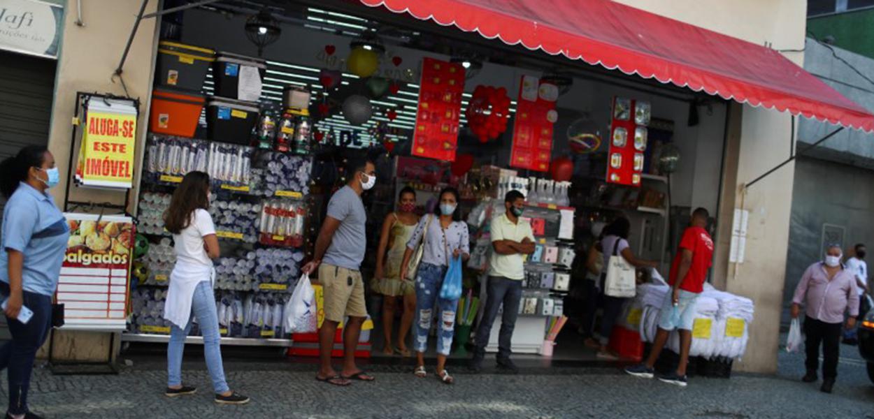 Comércio aberto no Rio de Janeiro