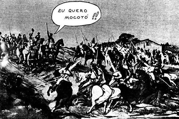 A intervenção de Jaguar sobre Pedro Américo
