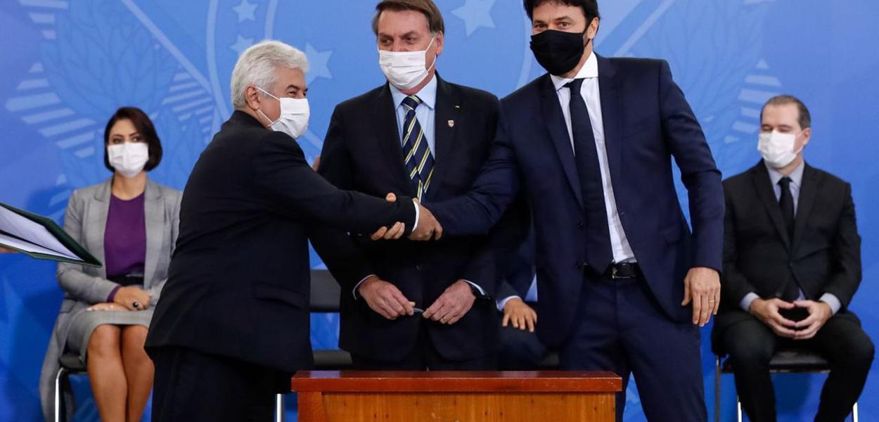 Fabio Faria toma posse como ministro das Comunicações