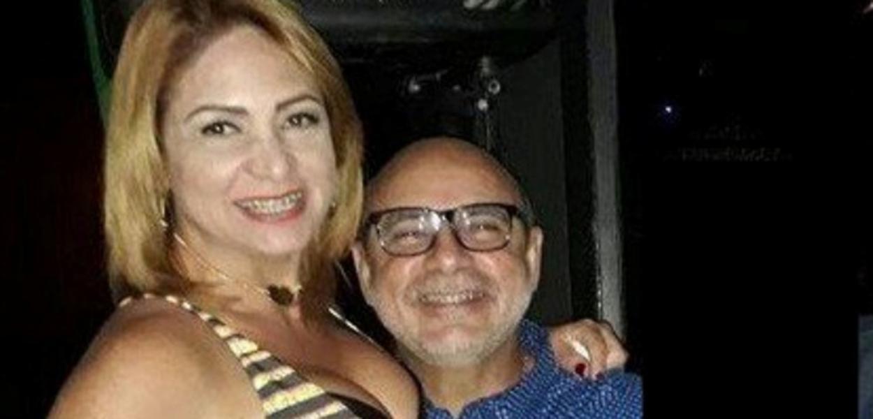 Márcia Oliveira de Aguiar e Fabrício Queiroz