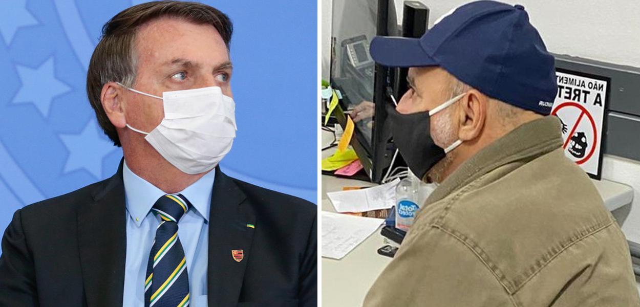 Jair Bolsonaro e Fabrício Queiroz
