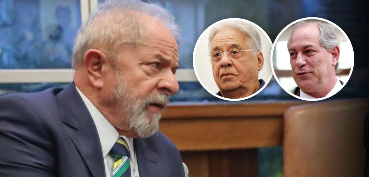 Lula, Fernando Henrique Cardoso e Ciro Gomes