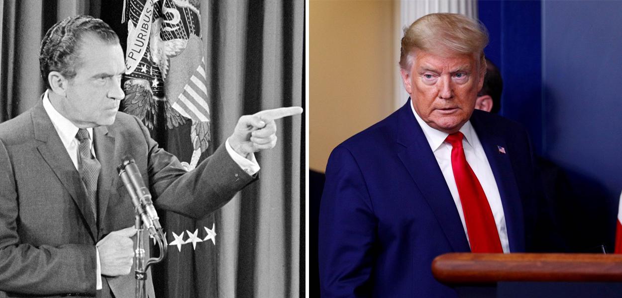Richard Nixon e Donald Trump