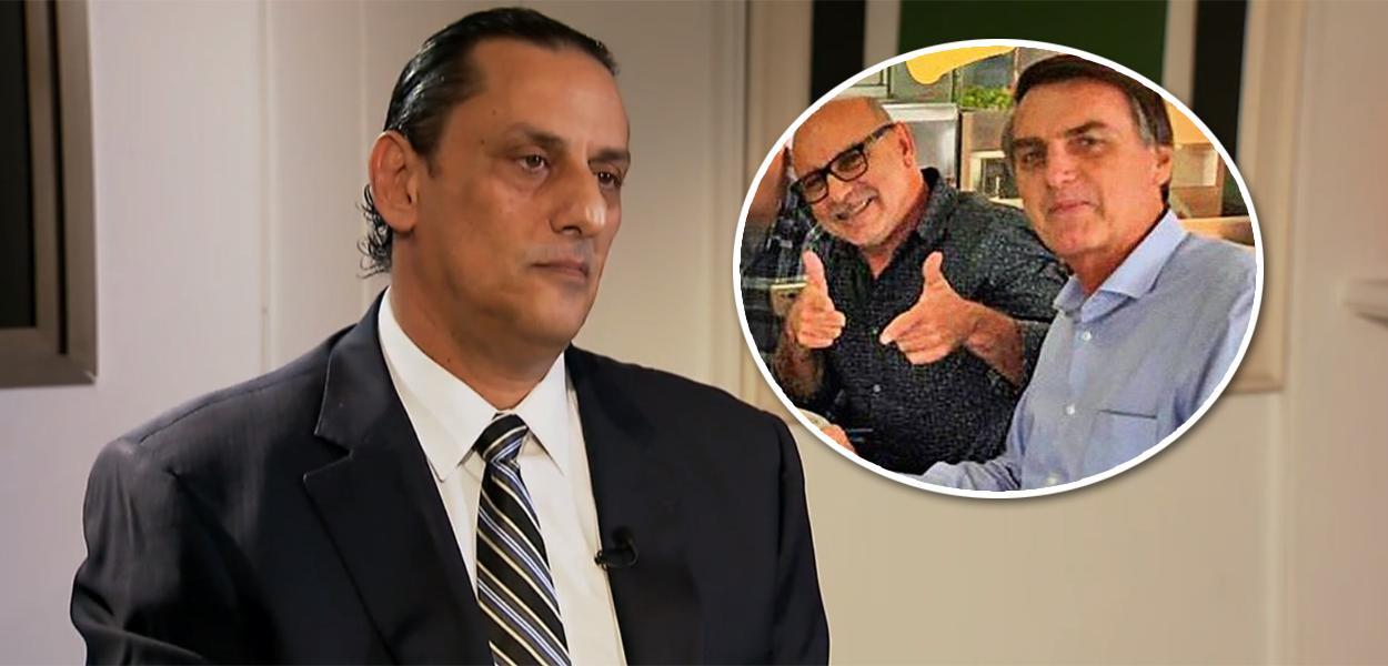 Frederick Wassef, Fabrício Queiroz e Jair Bolsonaro