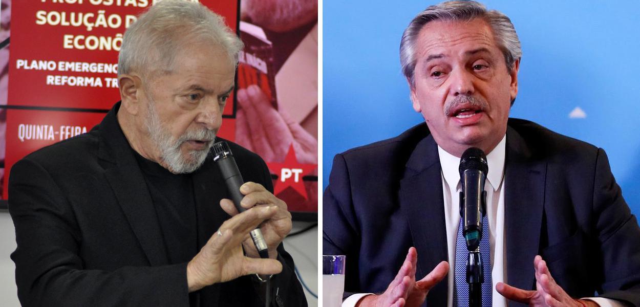 Lula e Alberto Fernández