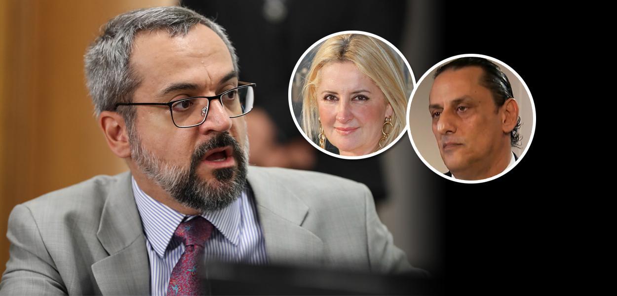 Abraham Weintraub, Frederick Wassef e Cristina Boner Leo