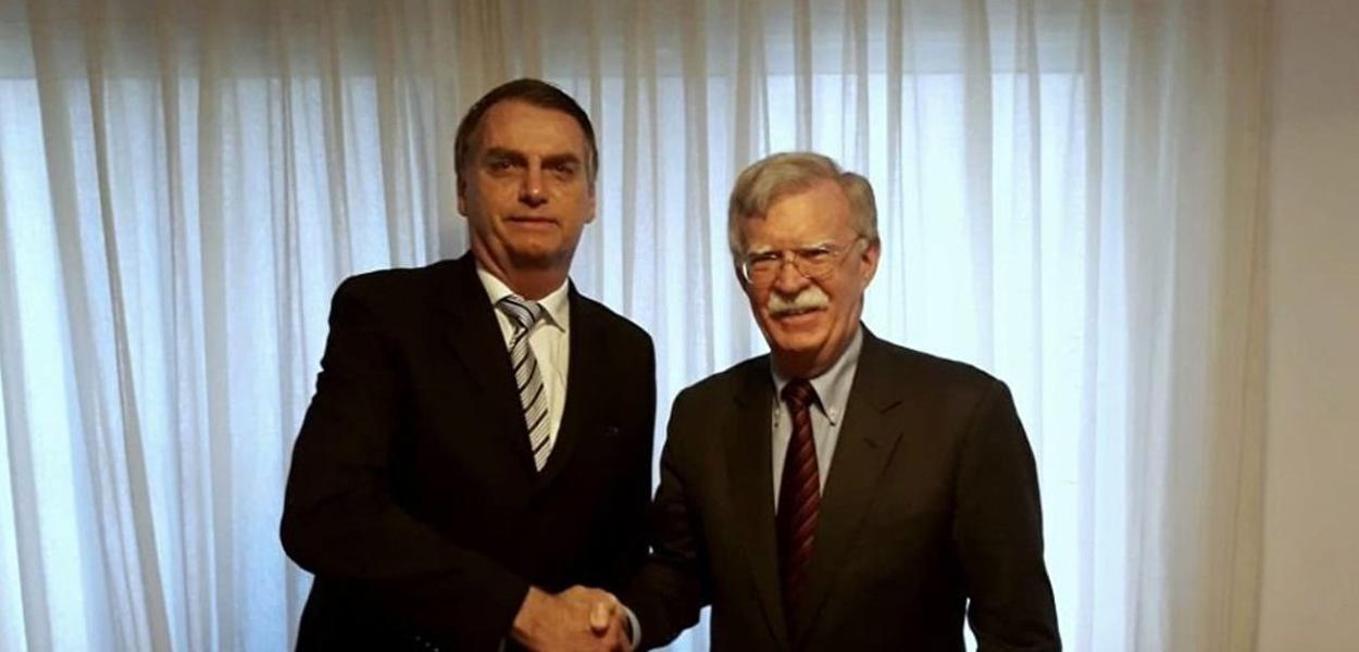 Bolsonaro e Bolton