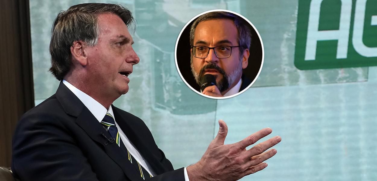 Jair Bolsonaro e Abraham Weintraub