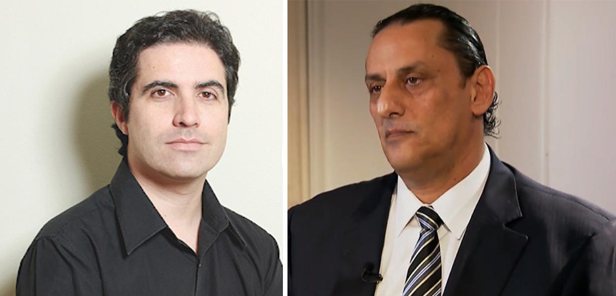 Bernardo Mello Franco e Frederick Wassef