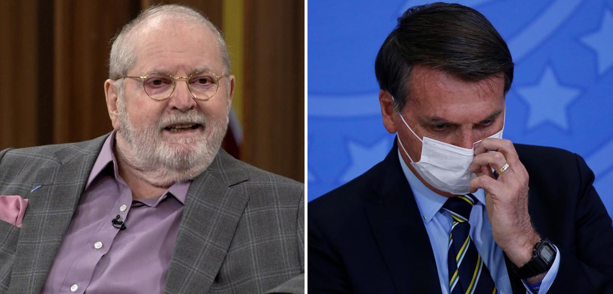 Jô Soares e Jair Bolsonaro