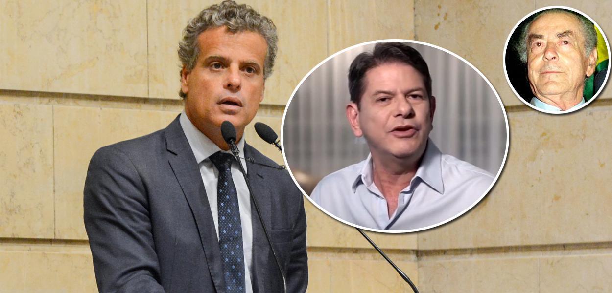 Vereador Leonel Brizola, Cid Gomes e Leonel Brizola
