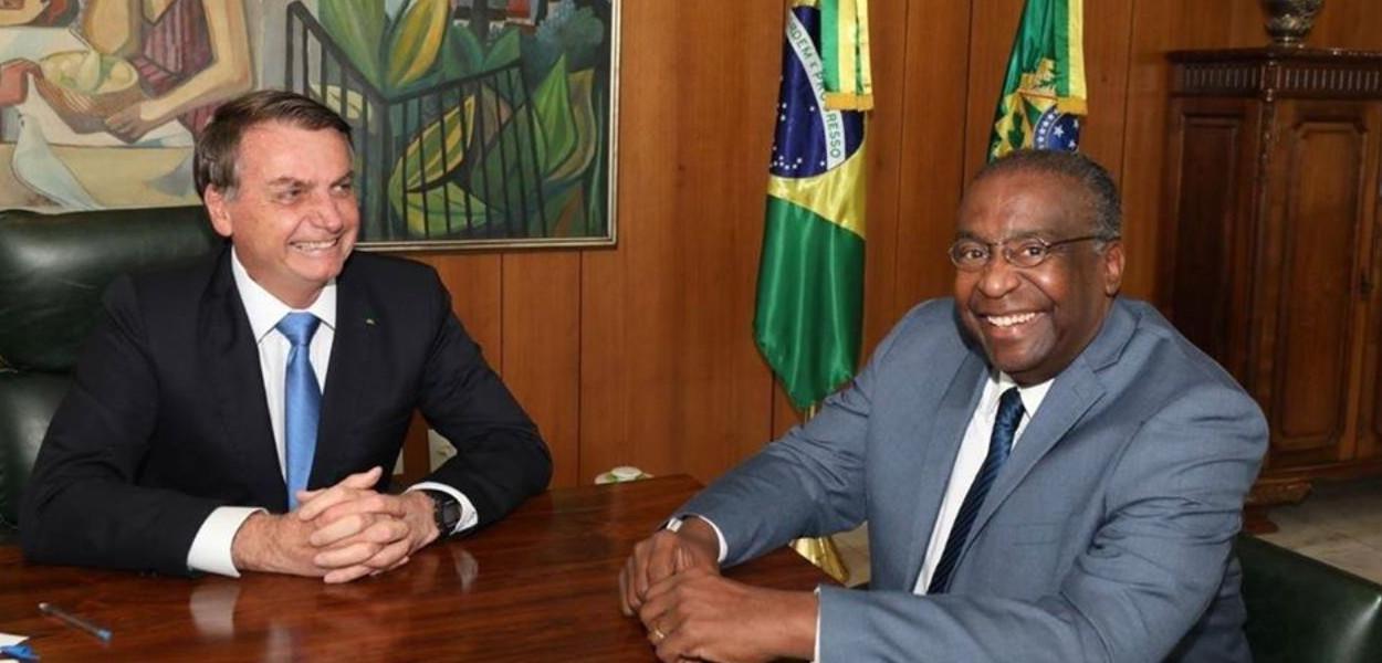Jair Bolsonaro e Carlos Alberto Decotelli da Silva