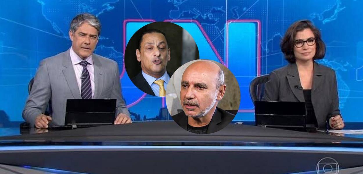Jornal Nacional, Queiroz e Wassef