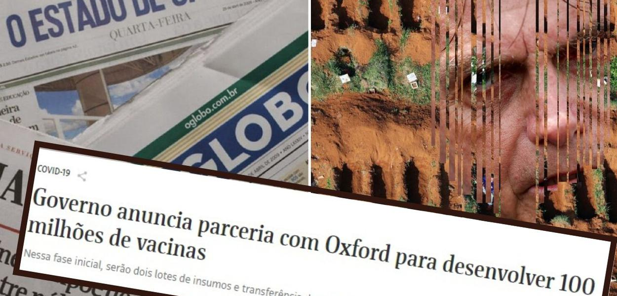 Bolsonaro e imprensa