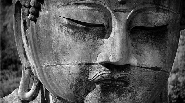 A face do Buda