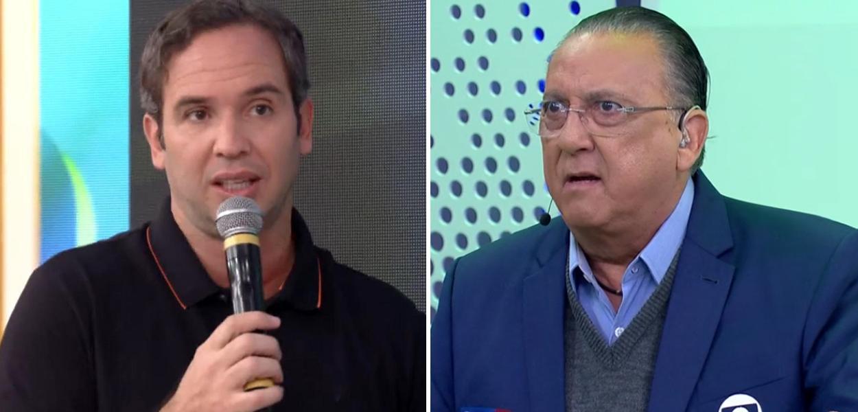 Caio Ribeiro e Galvão Bueno