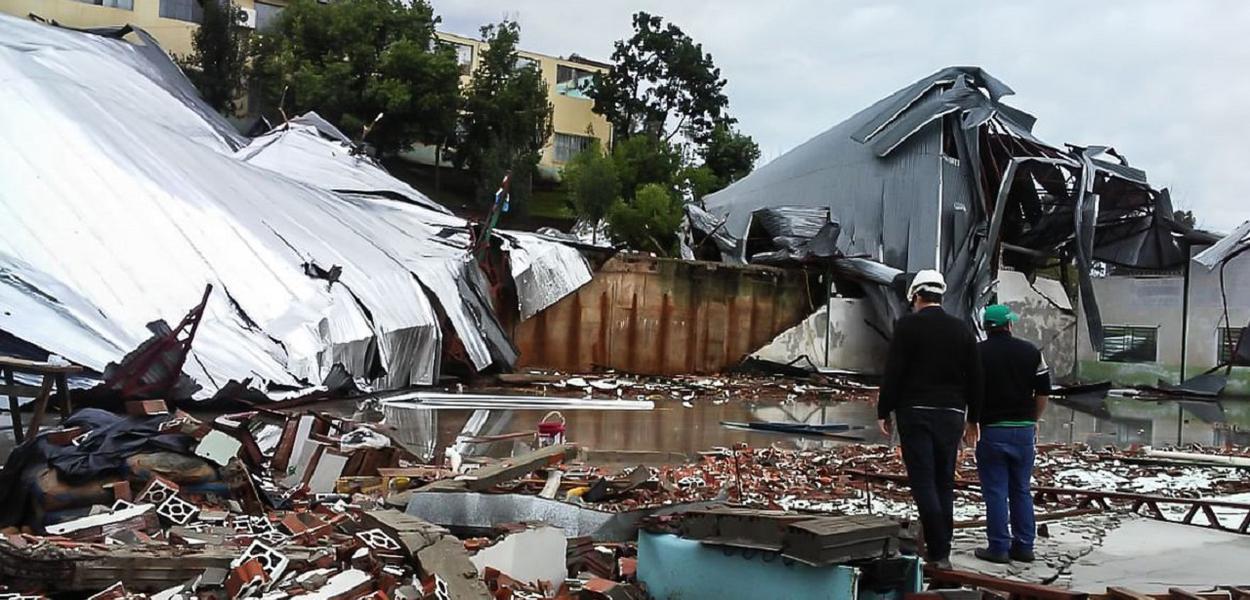 Ciclone Santa Catarina