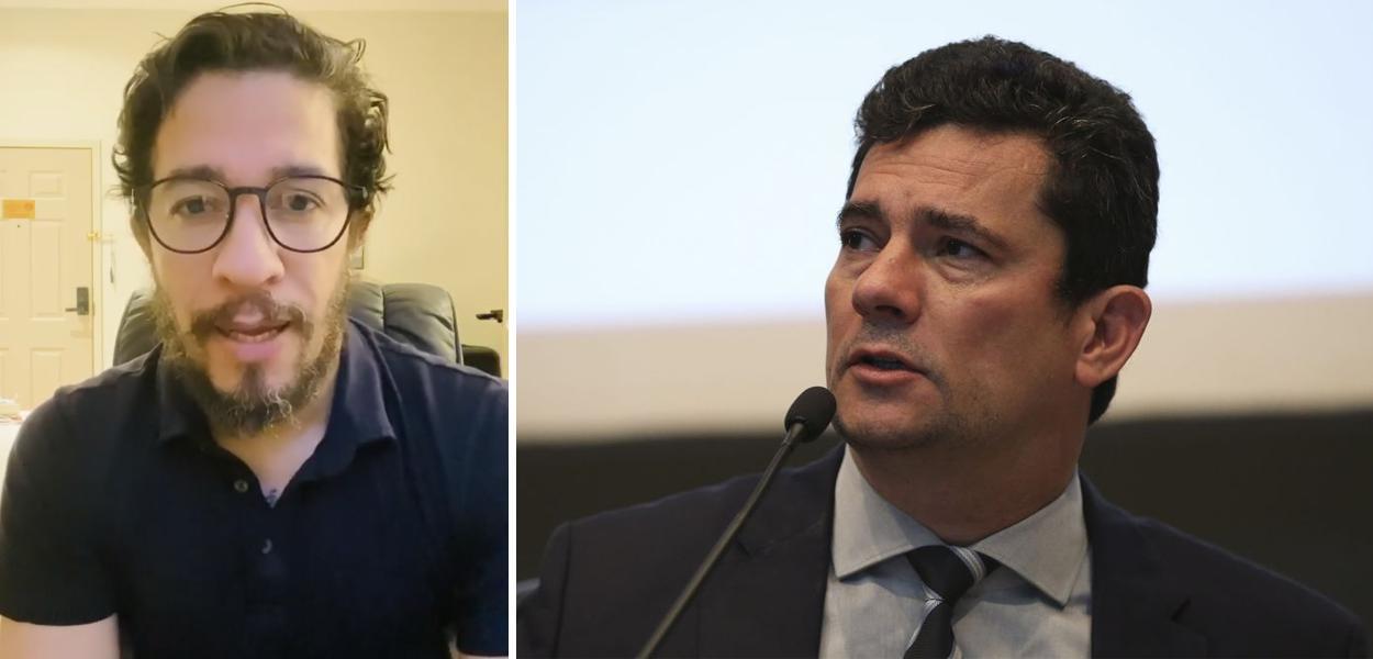 Jean Wyllys e Sérgio Moro