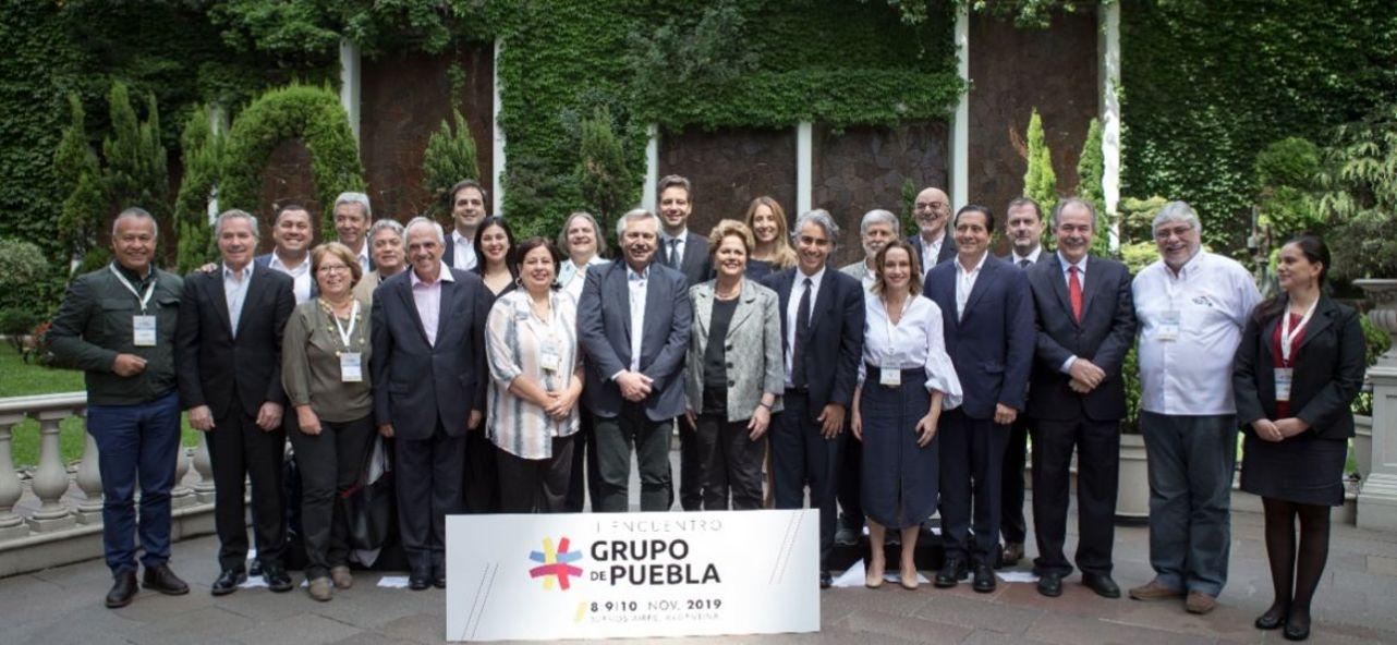 Integrantes do Grupo de Puebla