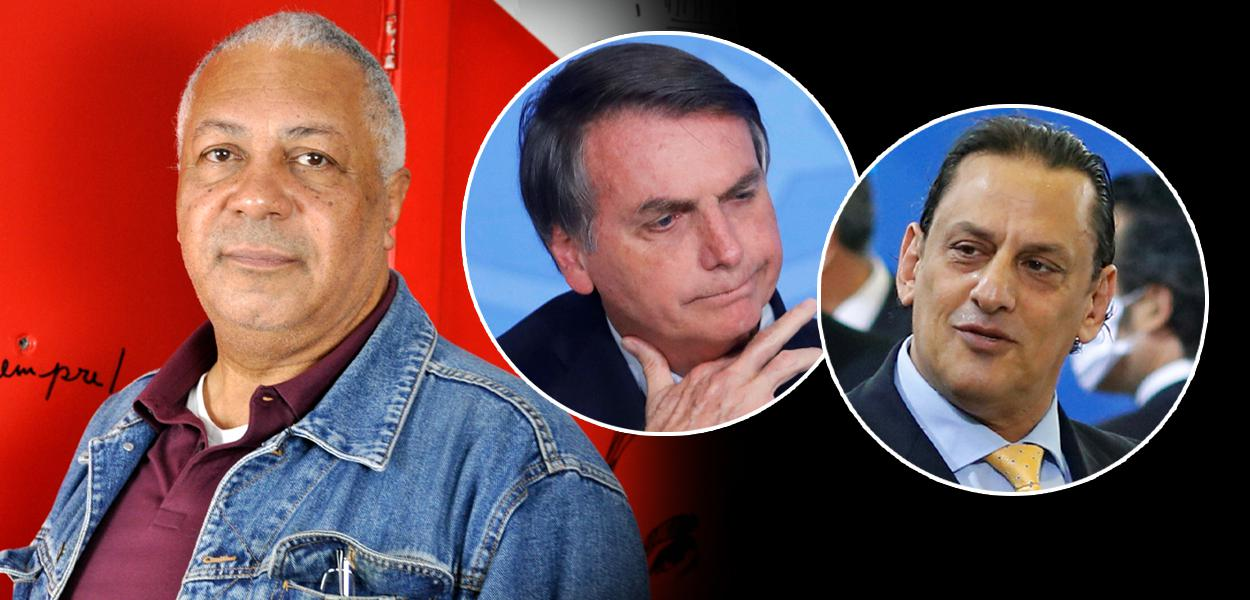 Pastor Ariovaldo Ramos, Jair Bolsonaro e Frederick Wassef