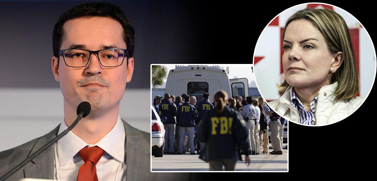 Deltan Dallagnol, FBI e Gleisi Hoffmann