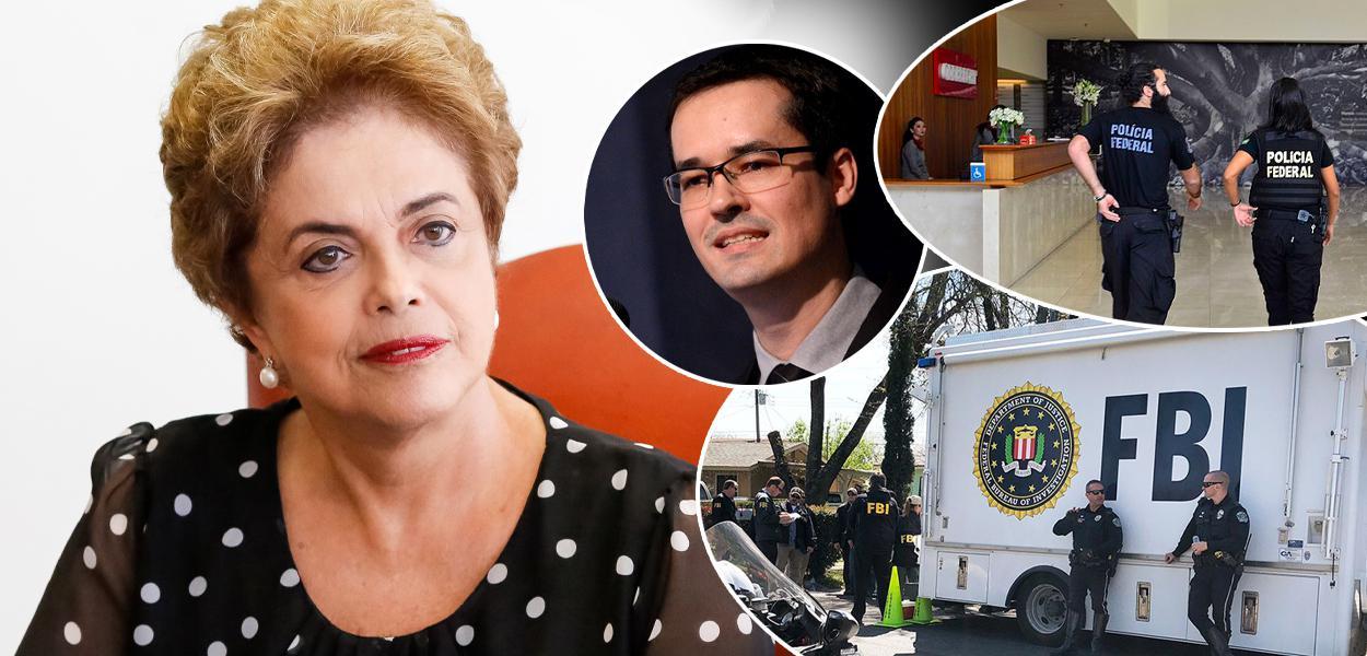 Dilma Rousseff, Deltan Dallagnol, Lava Jato e FBI