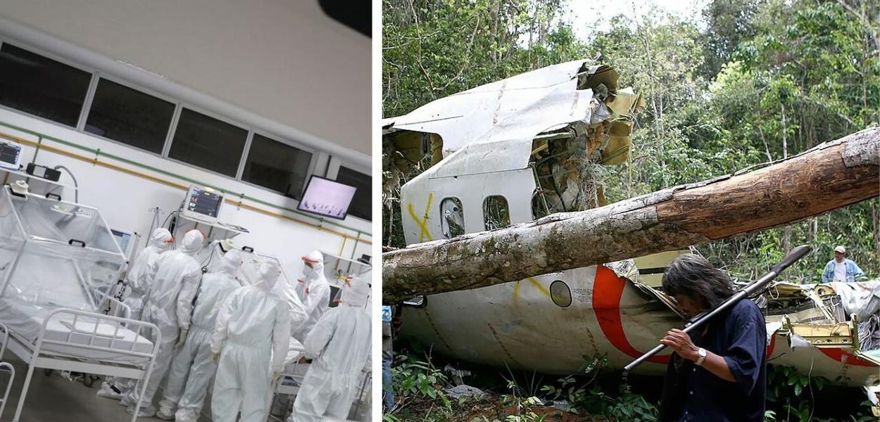 Coronavírus e queda de avião da Gol em 2006