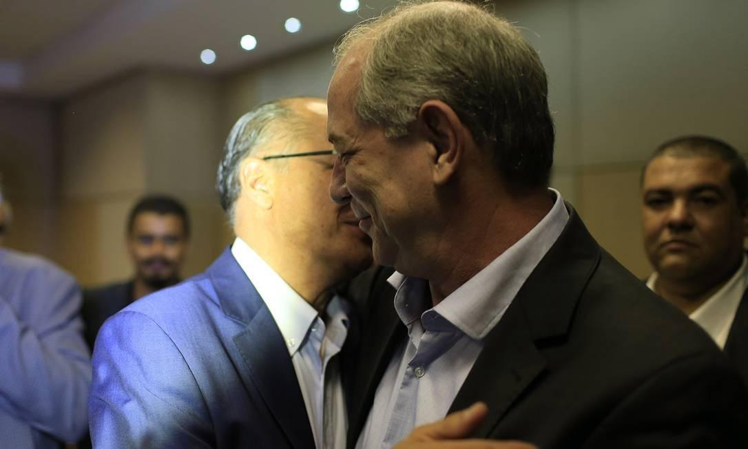 Ciro Gomes e Geraldo Alckmin