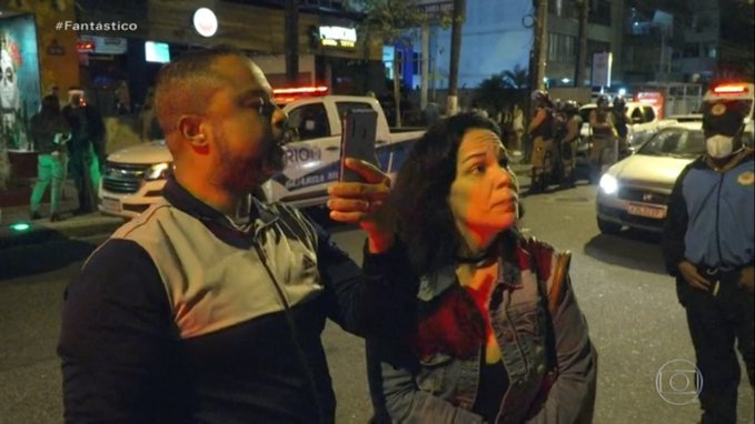 Casal ataca fiscal da Vigilância Sanitária em aglomerações no Rio