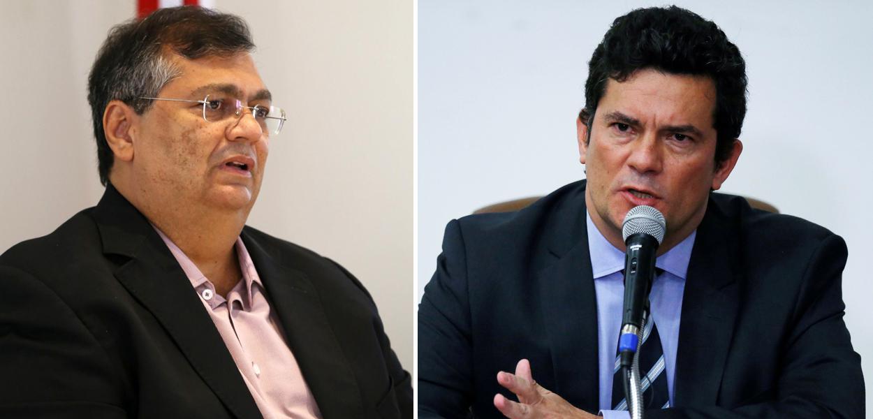 Flávio Dino e Sérgio Moro