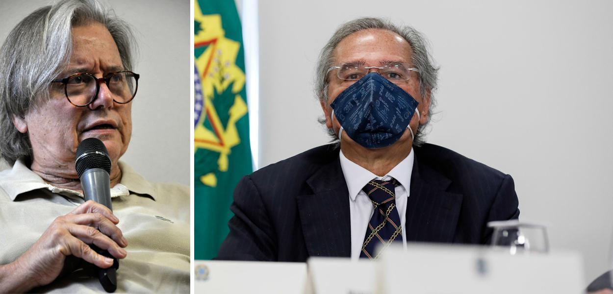 Paulo Moreira Leite e Paulo Guedes