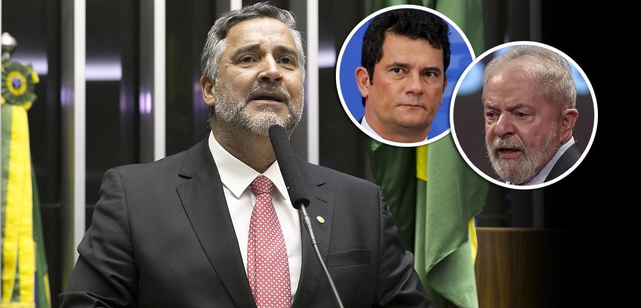 Paulo Pimenta, Sérgio Moro e Lula