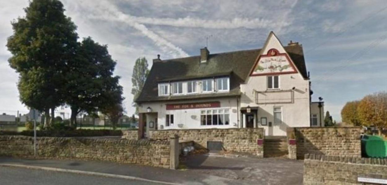 O pub Fox and Hounds em Batley, West Yorkshire