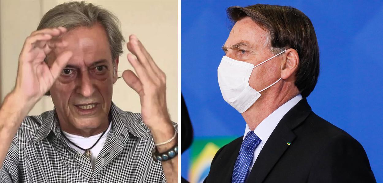 José Simão e Jair Bolsonaro