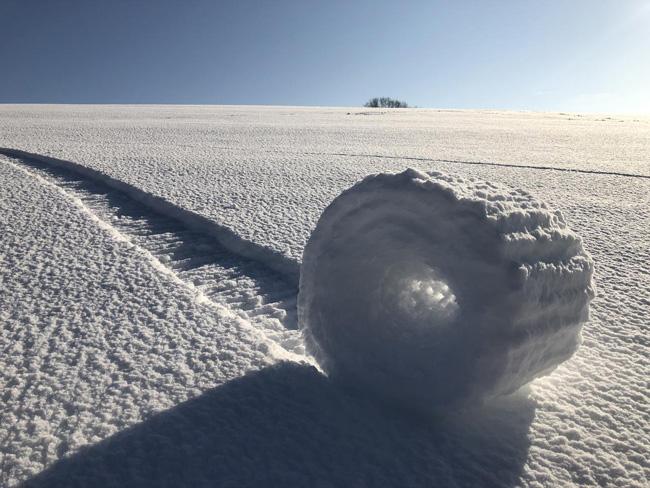 Rolo de neve