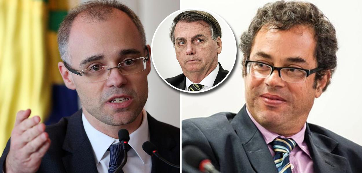André Mendonça, Jair Bolsonaro e Hélio Schwartsman