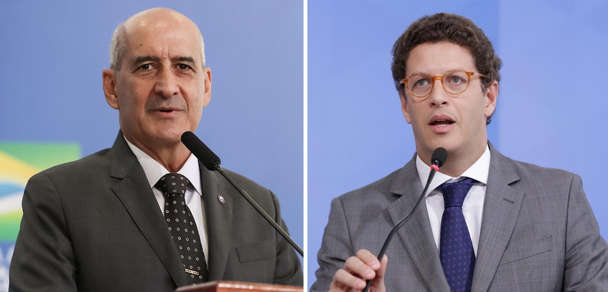 General Ramos e Ricardo Salles