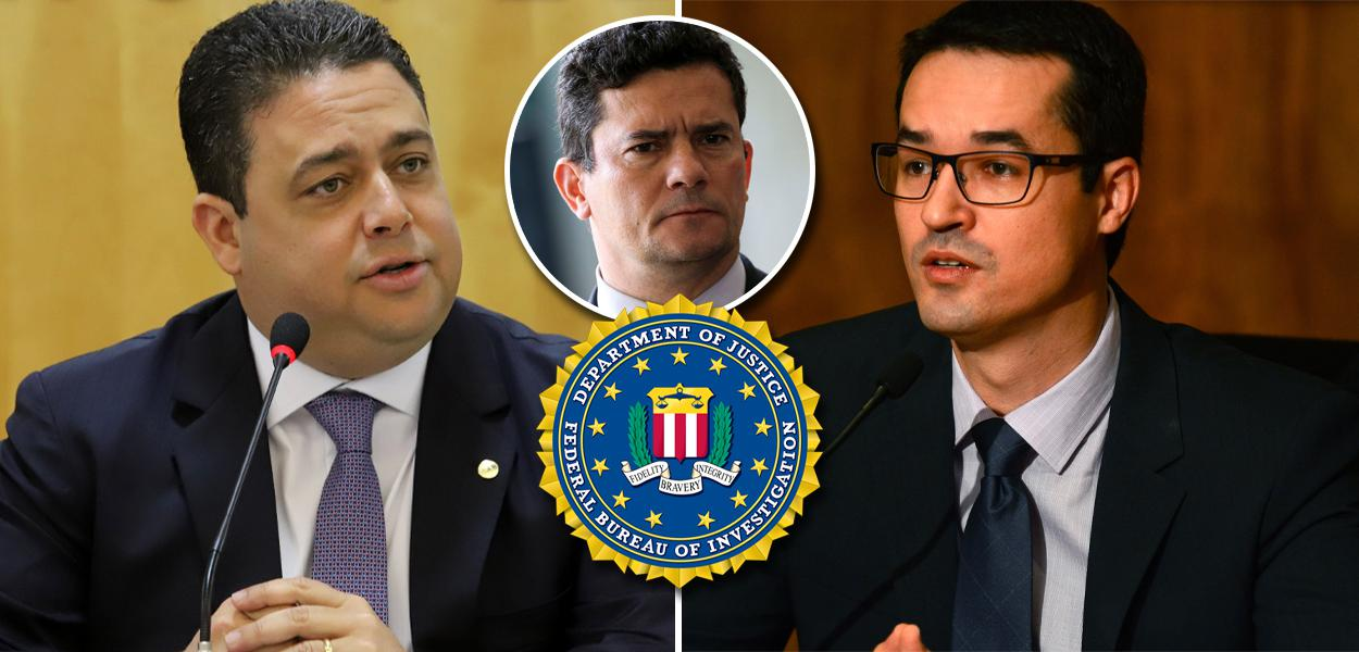 Felipe Santa Cruz, Sergio Moro e Deltan Dallagnol