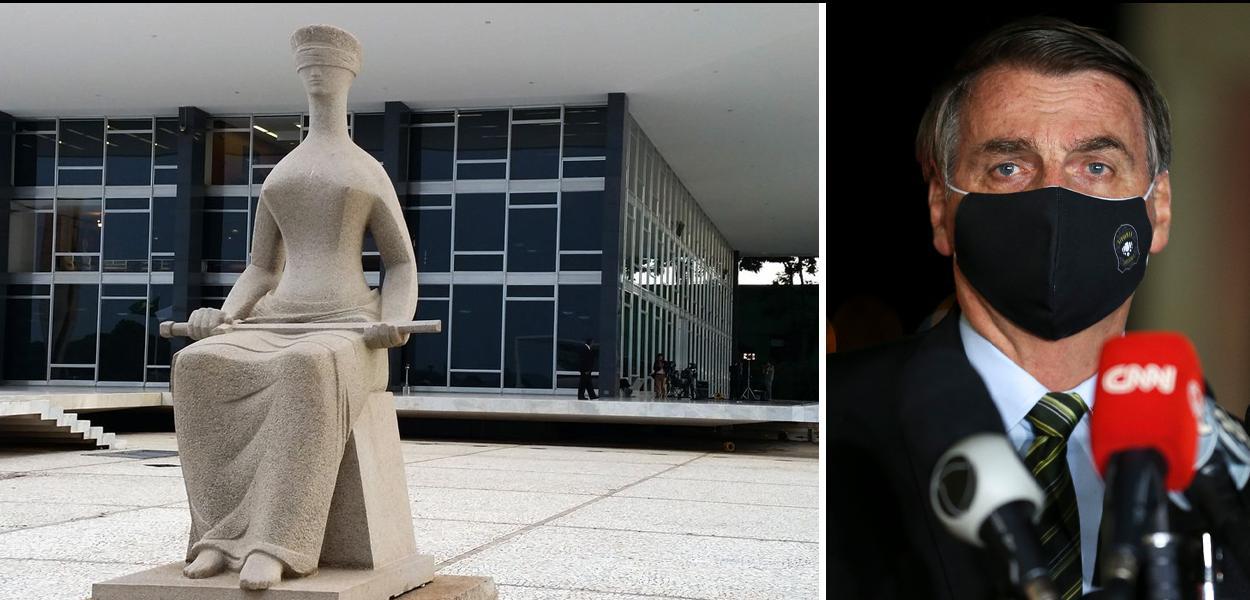 STF e Jair Bolsonaro