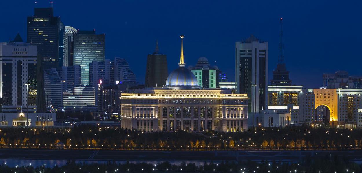 Nur-sultan, ex-Astana, capital do Cazaquistão